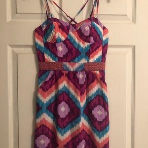 American Eagle 00 Aztec Print Short Dress